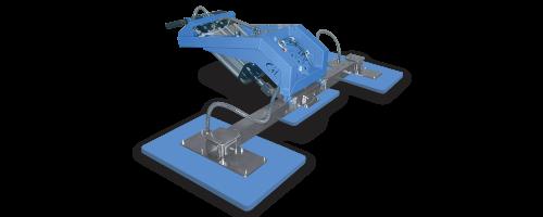 CIT Service - Ventose Marmo: ventose 3 piastre serie TOP - CMV 2/3 M RPR