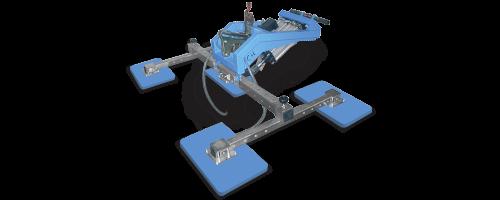 CIT Service - Ventose Marmo: ventose 4 piastre a croce serie TOP - CMV 2/4 M RPR