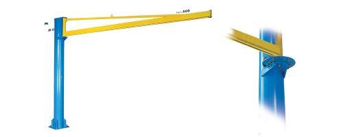 CIT Service - Gru: gru a bandiera a colonna con braccio in canalina - CM1