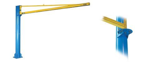 CIT Service - Gru: gru a bandiera a colonna con braccio in trave tirantata - CM2