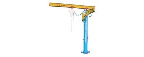 CIT Service - Gru: gru a bandiera a colonna con braccio snodato - CMBS