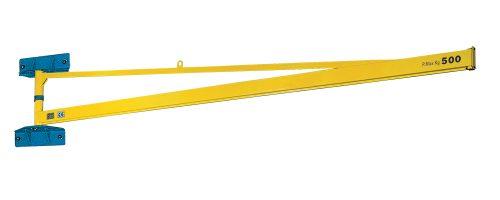 CIT Service - Gru: gru a bandiera a mensola con braccio in canalina - CMM1