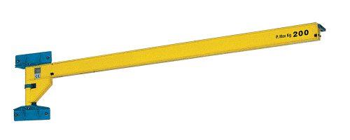 CIT Service - Gru: gru a bandiera a mensola con braccio in trave a sbalzo - CMM3