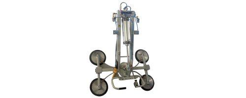 CIT Service - Ventose Vetro: ventosa vetro con rotazione manuale continua ad incremento di 90° e basculamento 0-90 pneumatico