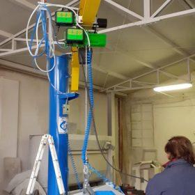 Cit Service - Ventosa legno con ribaltamento pneumatico